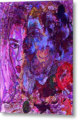 Attraction Metal Print by Natalie Holland