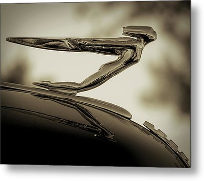 Auburn Angel Metal Print by Douglas Pittman