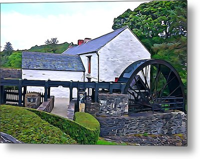 Metal Print featuring the photograph Auld Mill  by Charlie and Norma Brock