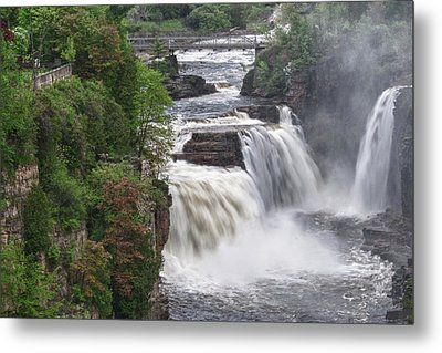 Ausable Chasm 5172 Metal Print by Guy Whiteley