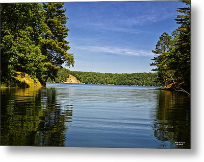 Ausable River In June Metal Print