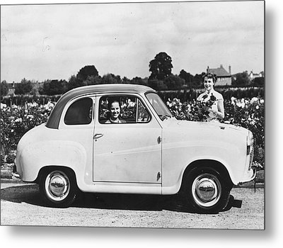Austin Seven Metal Print by Topical Press Agency