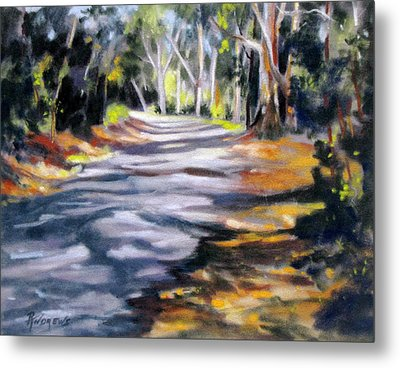 Metal Print featuring the painting Australia Revisited 3 by Rae Andrews