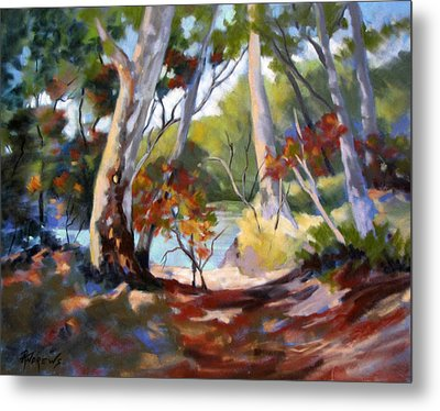 Metal Print featuring the painting Australia Revisited by Rae Andrews