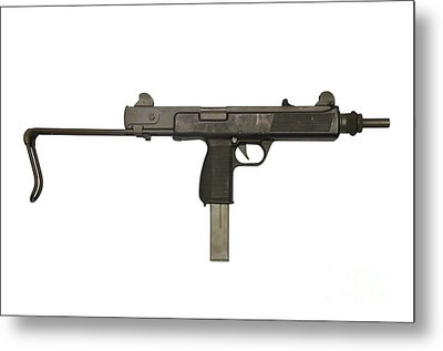 Austrian 9mm Steyr Mpi 81 Submachine Metal Print by Andrew Chittock