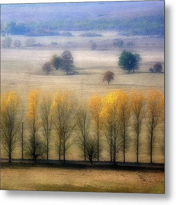 Autumn At Blumenthal Metal Print by Old&timer Imagery