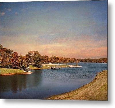 Autumn At Lake Graham 2 Metal Print by Jai Johnson
