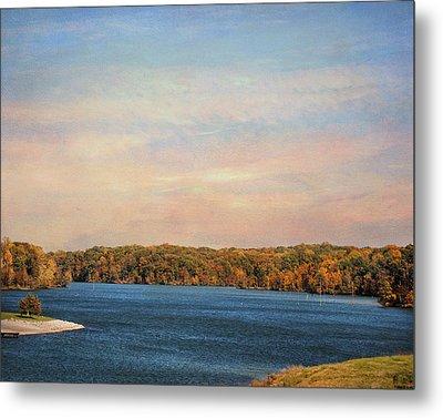 Autumn At Lake Graham Metal Print by Jai Johnson
