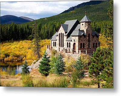Metal Print featuring the photograph Autumn At St. Malo  by Jim Garrison