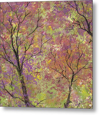 Autumn Blush Metal Print