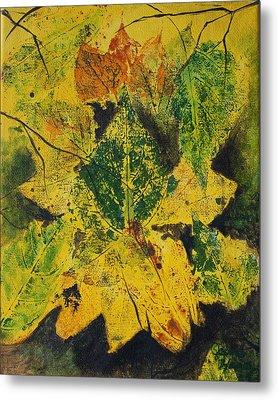 Autumn Boquet Metal Print