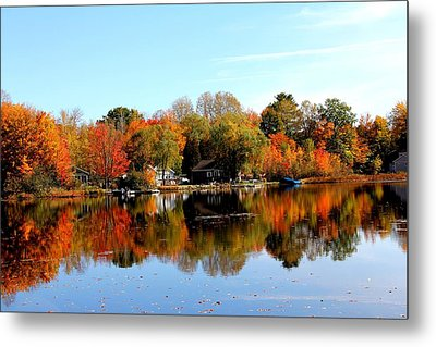 Autumn Bronze Metal Print