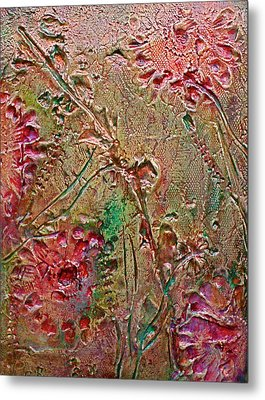 Metal Print featuring the painting Autumn Daze by D Renee Wilson