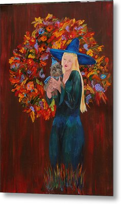 Autumn Fantasy Metal Print by Gail Daley
