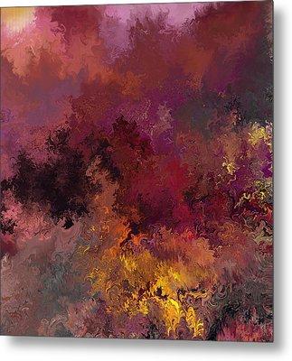 Autumn Illusions  Metal Print by David Lane