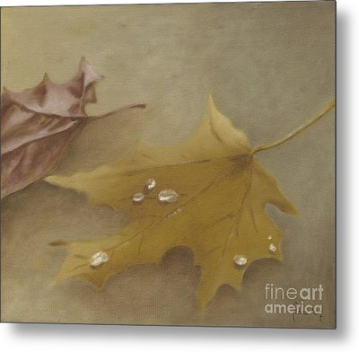 Autumn Leaves Metal Print by Annemeet Hasidi- van der Leij