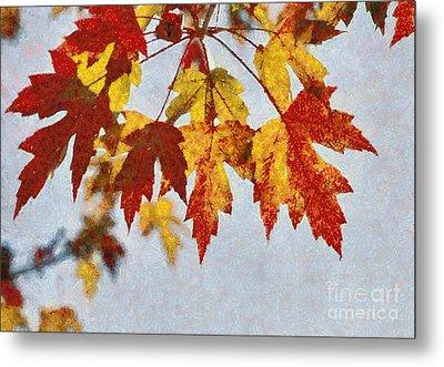 Autumn Leaves IIi Metal Print by Billie-Jo Miller