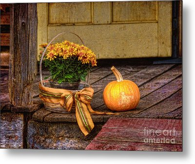 Autumn Metal Print by Lois Bryan