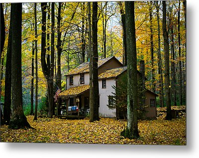 Autumn Peace Metal Print