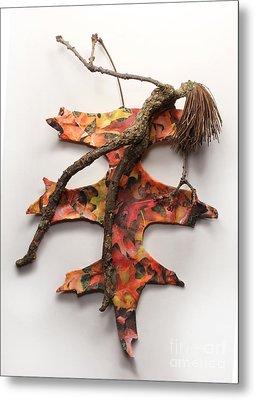 Autumn Release Metal Print by Adam Long