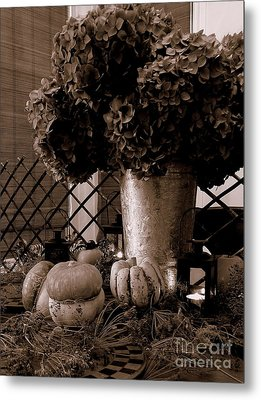 Autumn Still Life  3 Metal Print by Tanya  Searcy
