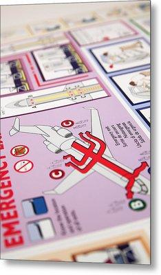 Aviation Information IIi Metal Print by Ricky Barnard