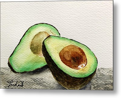 Avocado Metal Print by Prashant Shah