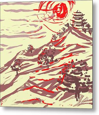 Awakening Hill Metal Print by MURUMURU By FP