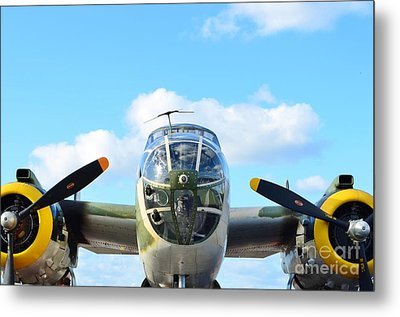 B-25j Killer B Metal Print by Lynda Dawson-Youngclaus