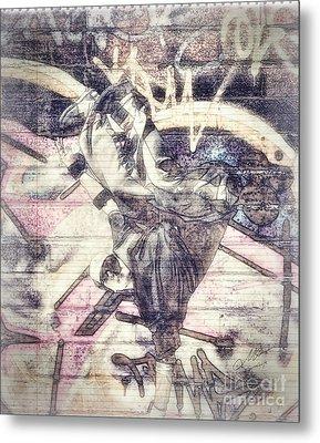 B Boy Metal Print