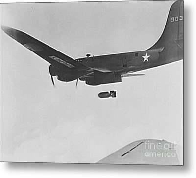 B17 Flying Fortress Bomber Metal Print by Padre Art