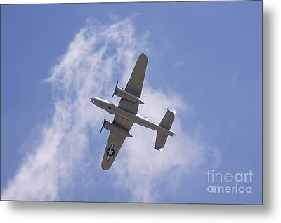 B25 Metal Print by Robert E Alter Reflections of Infinity