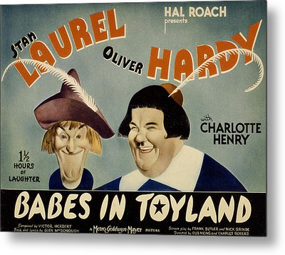 Babes In Toyland,from Left, Stan Metal Print by Everett