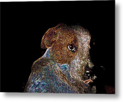 Baby Blue Metal Print by One Rude Dawg Orcutt