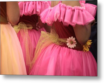 Baby Tutus Metal Print by Denice Breaux