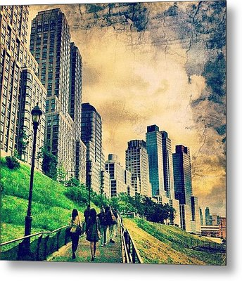 Back To The City.  Metal Print