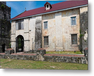 Baclayon Church Metal Print by Hans Engbers