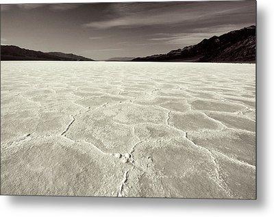 Bad Water Death Valley Metal Print