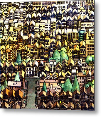Baghdad By The Bay Metal Print by Andre Salvador