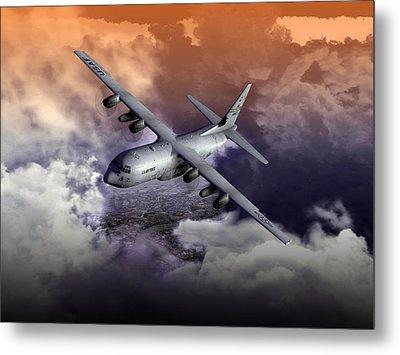 Baghdad Express 01 Metal Print by Mike Ray