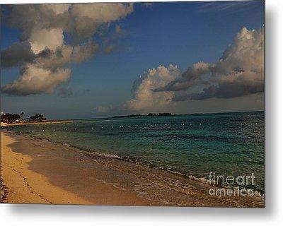 Bahama Ocean View Metal Print by Nancie DeMellia