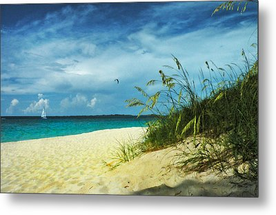 Metal Print featuring the photograph Bahamas Afternoon by Deborah Smith