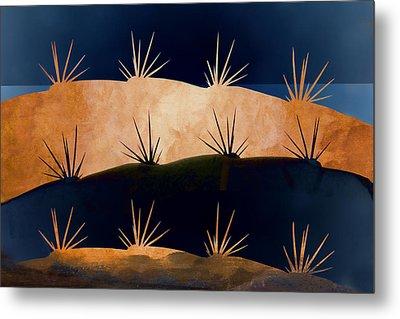 Baja Landscape Number 1 Metal Print by Carol Leigh