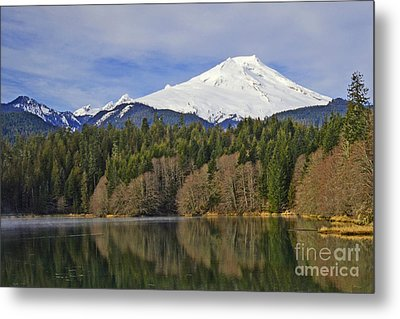 Metal Print featuring the photograph Baker Lake by Jack Moskovita