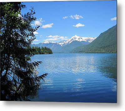 Metal Print featuring the photograph Baker Lake by Karen Molenaar Terrell
