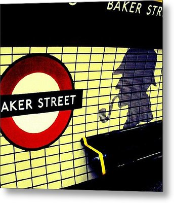 Baker Street Station, May 2012 | Metal Print by Abdelrahman Alawwad