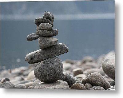 Balance Metal Print by Cathie Douglas