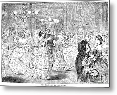 Ball, 1858 Metal Print by Granger