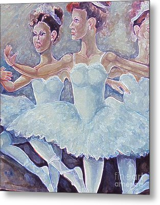 Ballerina Dance Metal Print by Rita Brown