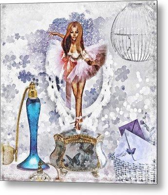Ballerina Metal Print by Mo T
